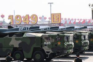 中共部署東風17 台行政院長:威脅區域平和