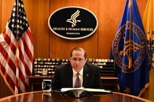 美國衛生部長訪台 美議員樂見其成