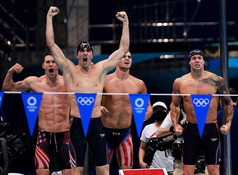 東奧2020 游泳賽事美澳龍虎爭峰 英躍居第3 中國第4
