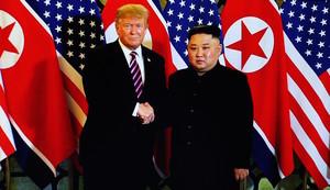 特朗普:或在韓朝邊境與金正恩握手問好