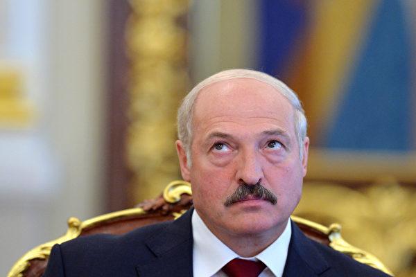 白俄羅斯總統盧卡申科。(SERGEI SUPINSKY/AFP)