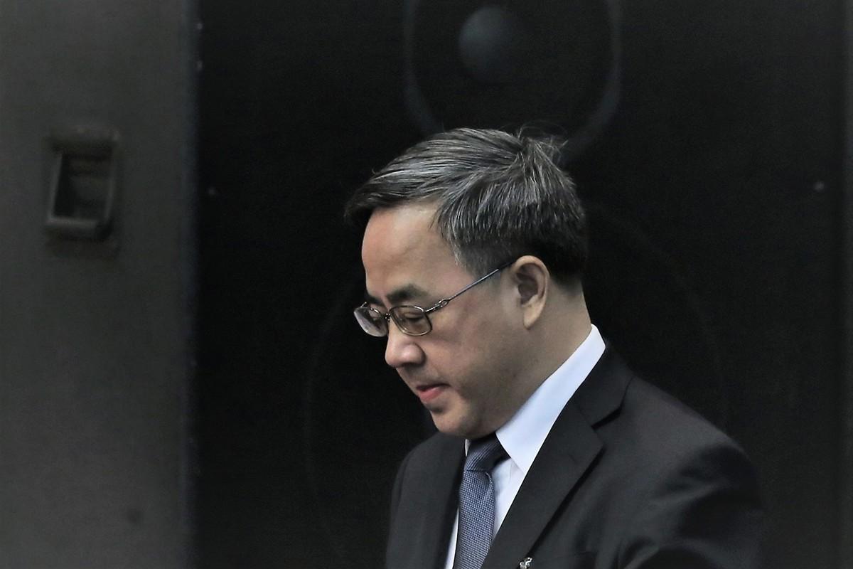 圖為中共國務院排名第三的副總理胡春華,他負責外國投資和貿易。(Getty Images)