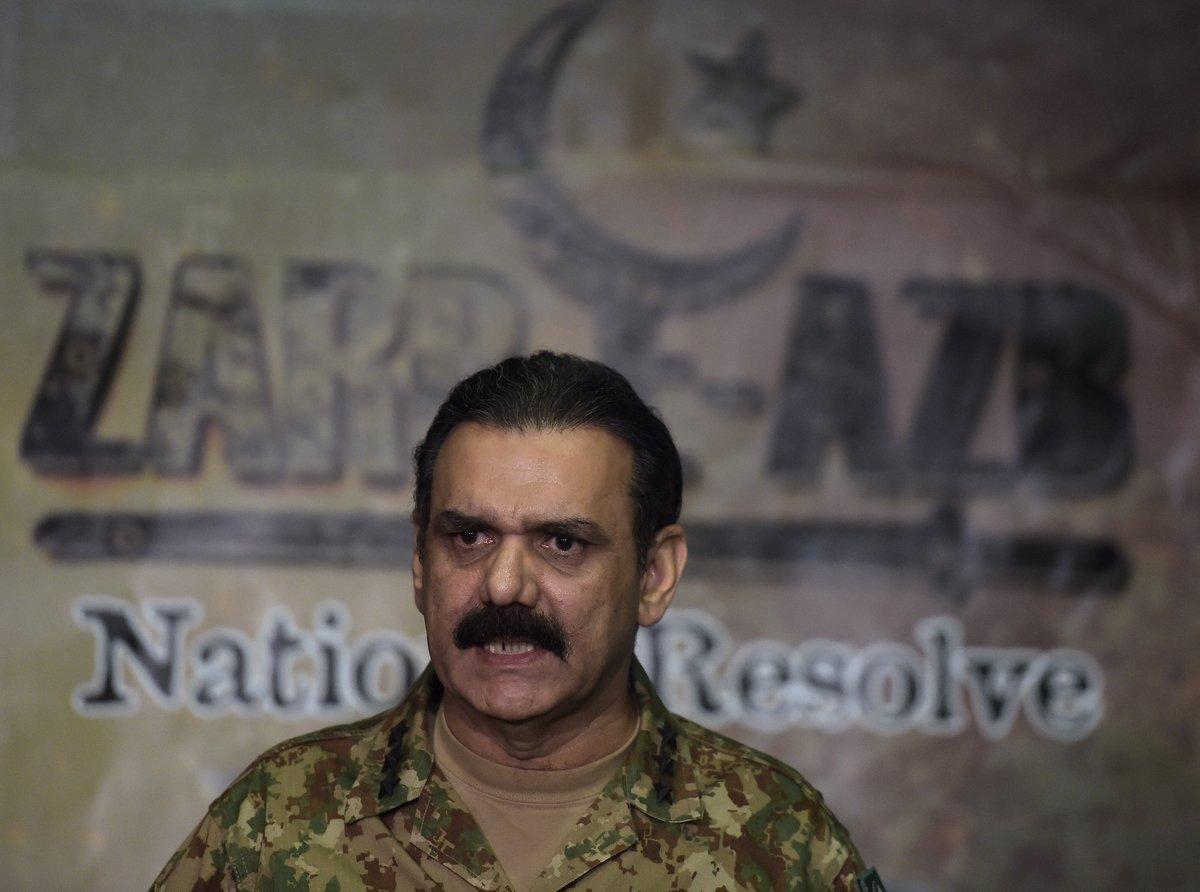 「中巴經濟走廊」巴基斯坦負責人巴傑瓦(Asim Saleem Bajwa)日前面臨辭職壓力。巴傑瓦資料照。(Photo by AAMIR QURESHI/AFP)