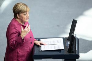 德國總理默克爾罕見發聲 譴責中共踐踏人權