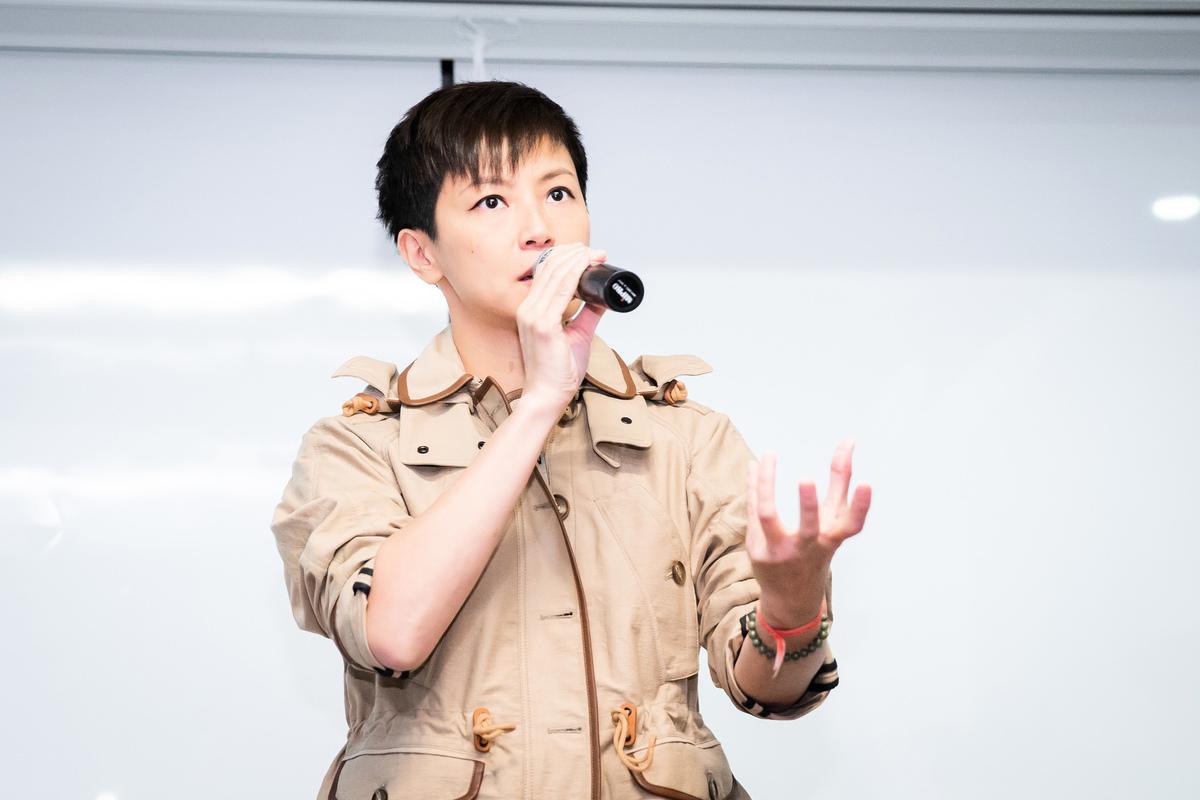 香港歌手何韻詩資料照。(陳柏州/大紀元)