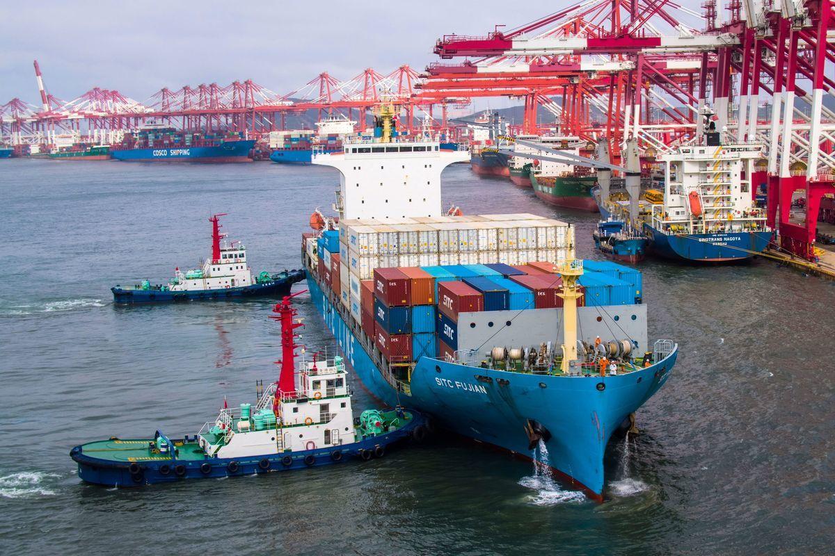 中美經濟是否將會徹底脫鉤引發關注。圖為示意圖。(STR/AFP via Getty Images)