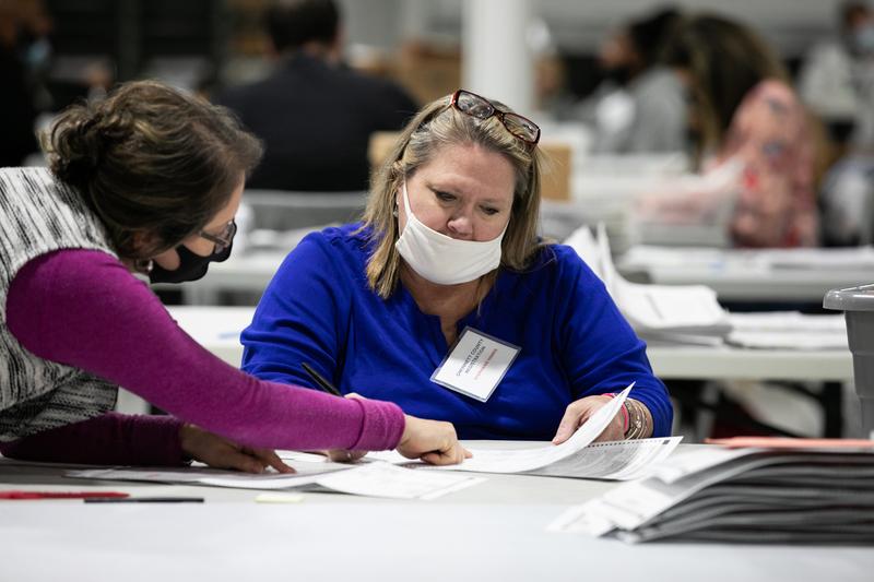 佐治亞州核查「死人投票」 選民籲計票過程公正