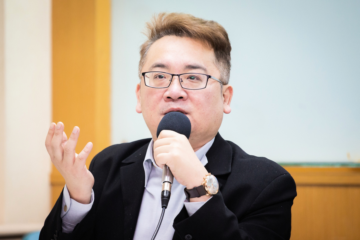 兩岸政策協會研究員張宇韶資料圖。(陳柏州/大紀元)