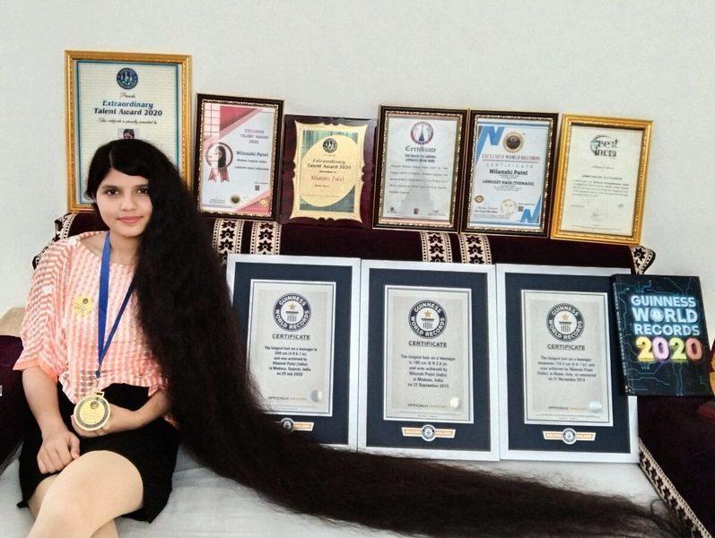 【健力士紀錄】長髮公主為激勵他人 決心剪掉兩米秀髮捐博物館