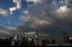 大陸前三季度地方財政收入 重慶增速-7.2%