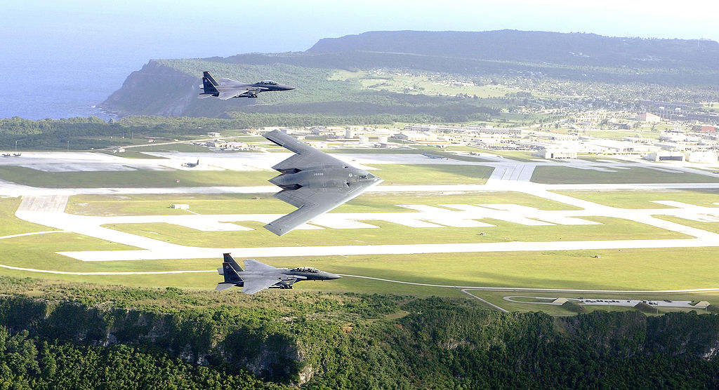 美軍十個最大的海外軍事基地 五個在日本