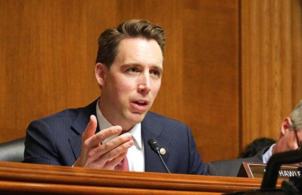 參議員霍利:美國國會需對選舉誠信進行監管