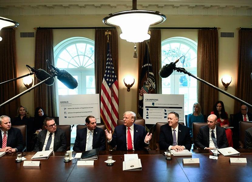 特朗普:與中方貿易協議談判進展順利