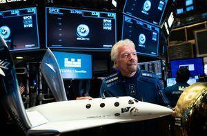 搶先貝佐斯一步 英國富豪11日遊太空