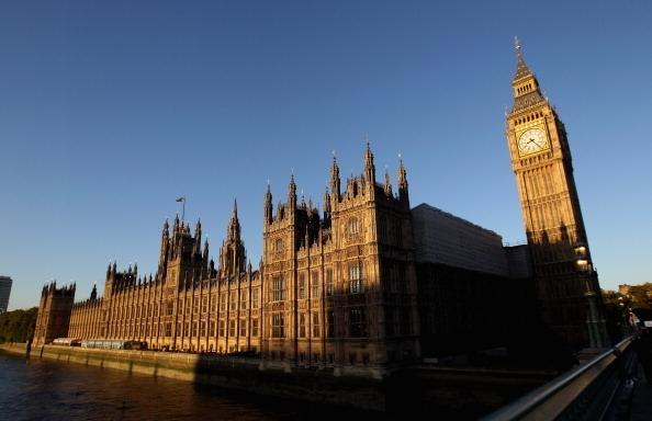 圖為英國議會大廈。(Dan Kitwood/Getty Images)