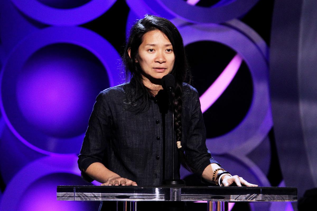 華裔導演趙婷(Chloé Zhao)資料照。(Tommaso Boddi/Getty Images)
