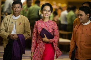 緬甸軍事政變 昂山素姬等人遭軍方拘留