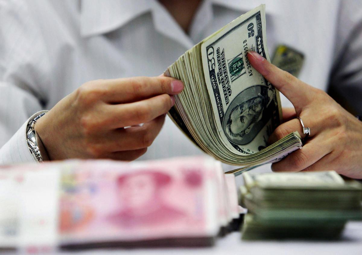 在中共政府眼中,匯市卻事關金融安全。匯率貶值對中國的真正威脅是資本外流。(Getty Images/AFP)
