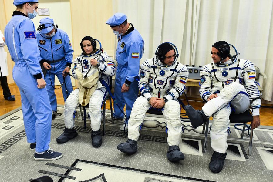 首部太空拍攝電影 俄羅斯劇組開先例