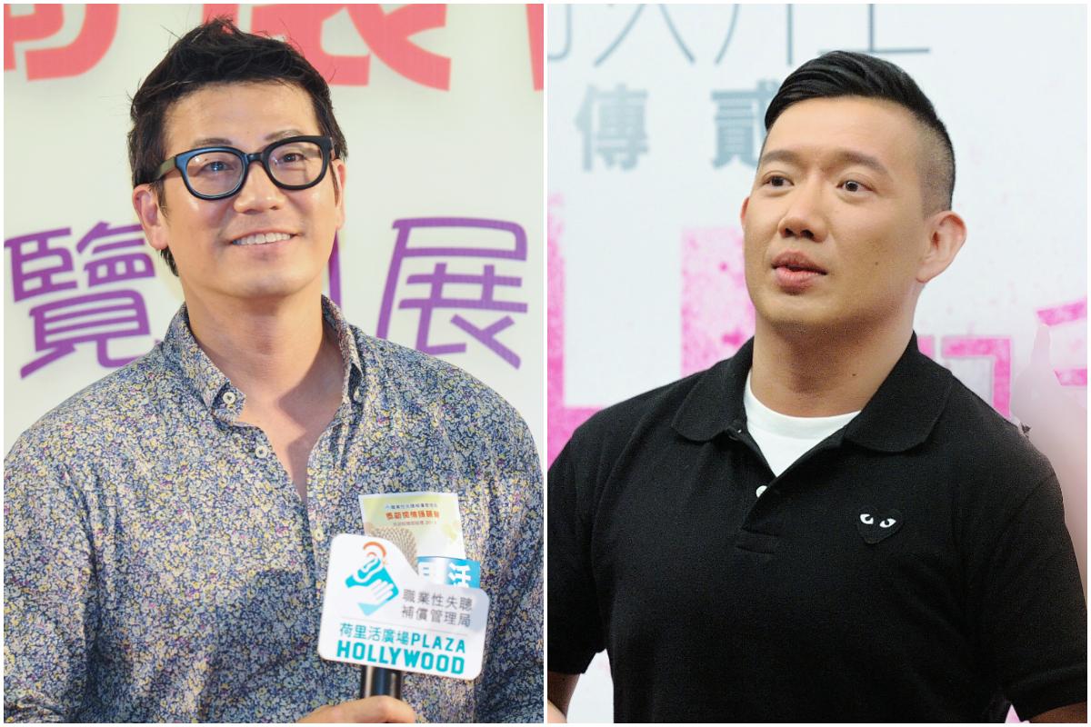 香港藝人歐錦棠(左)與杜汶澤資料照。(孫青天,宋祥龍/大紀元)