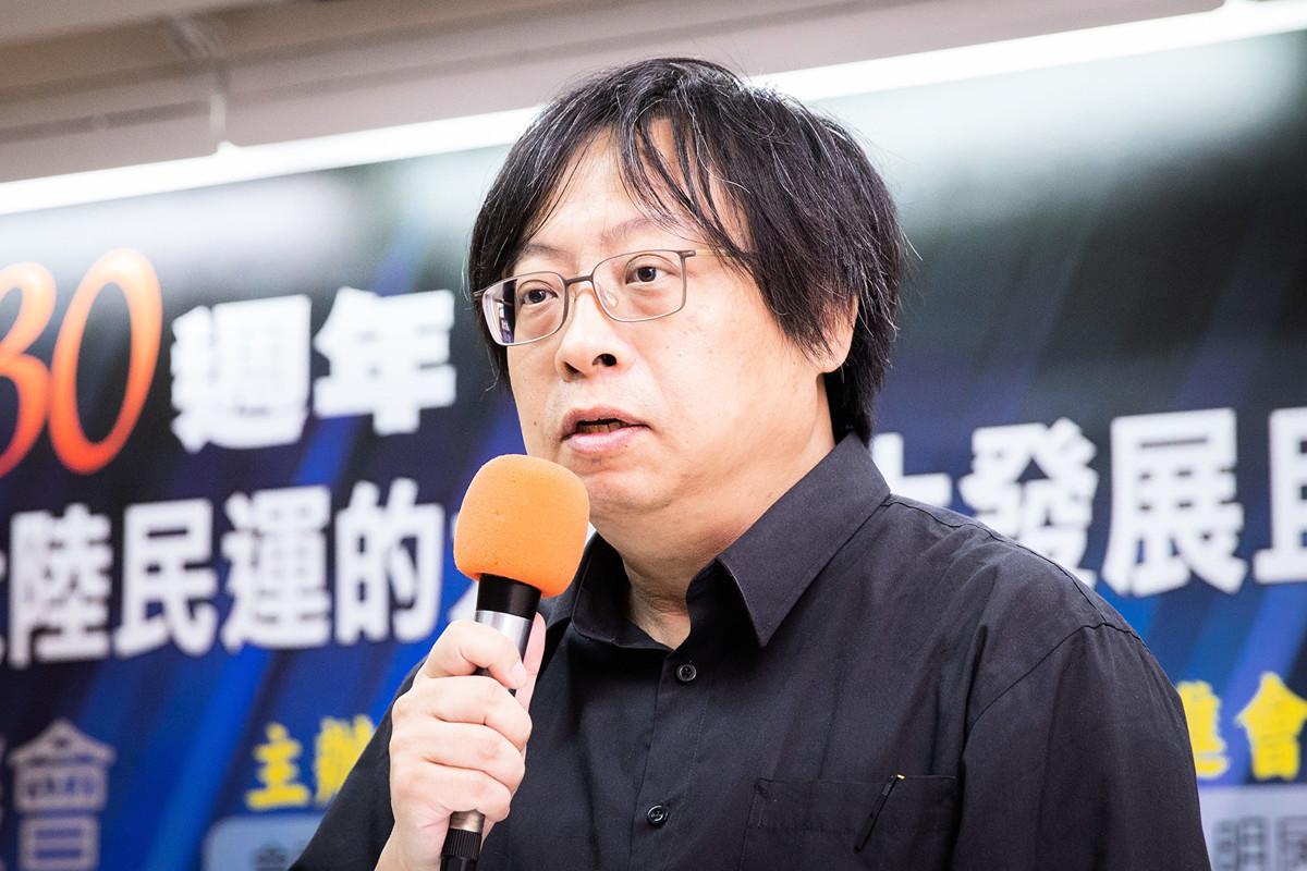華人民主書院董事主席曾建元表示,香港人在鎮暴警察及共軍深圳待命傳言壓力下,上街表達香港民意,用腳來投票,令人非常敬佩。圖為資料照。(陳柏州/大紀元)