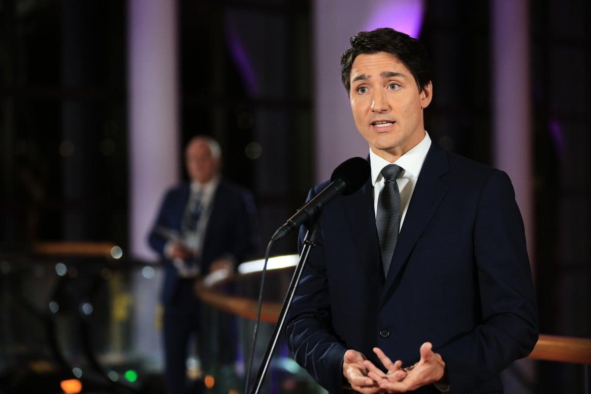 加拿大總理杜魯多譴責中共對加拿大「強制外交」升級。(任僑生/大紀元)
