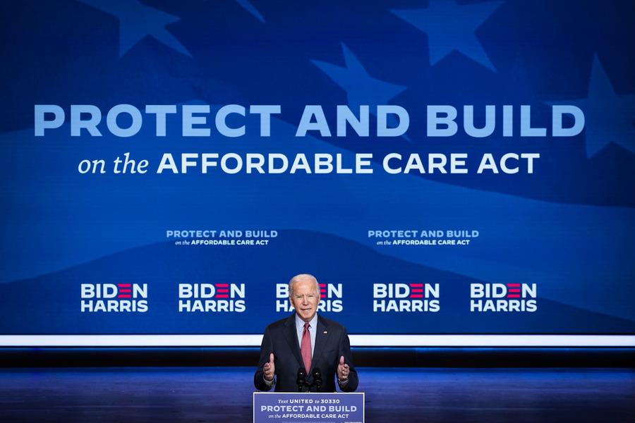 拜登紓困案擴大奧巴馬醫保補貼 讓富裕者受惠