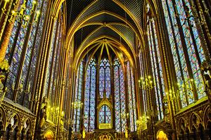 組圖:巴黎聖禮拜堂 最精美的哥特式建築