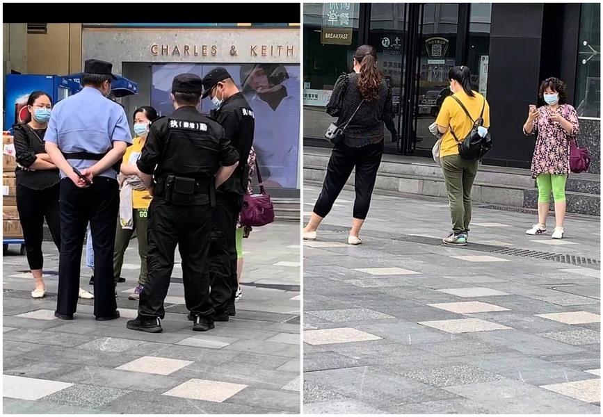 杭州訪民逃離軟禁再被跟監 警察稱政府行為