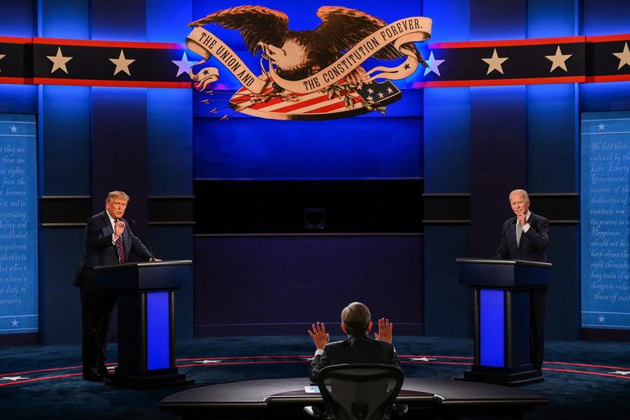 大選辯論 拜登批總統減稅政策 特朗普反擊