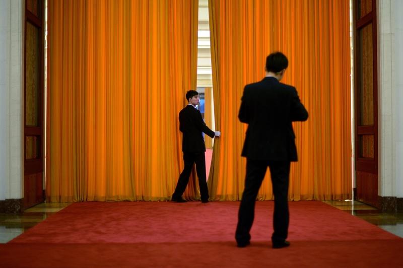 為期4天的中共十九屆五中全會閉門會議2020年10月29日結束。業界分析,大陸的經濟正處於困境之中。(WANG ZHAO/AFP/Getty Images)