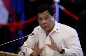 菲律賓總統杜特爾特宣布將退出政壇