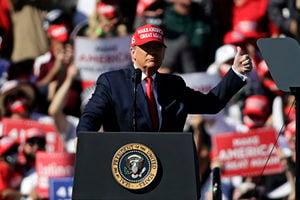 特朗普誓言查處舞弊:投入125%的精力