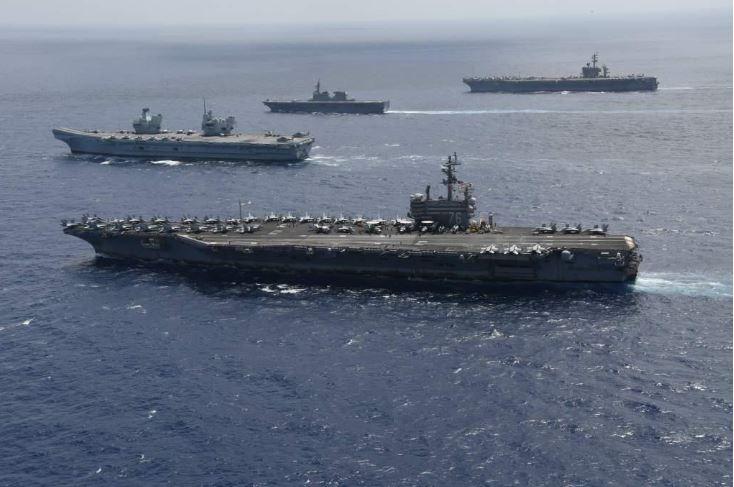 美海軍部長將發布戰略指導 阻中共入侵台灣