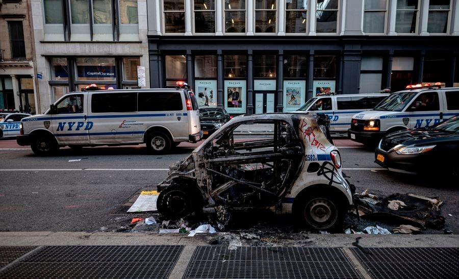 抗議演變為搶劫和暴力活動 白宮籲州府阻止