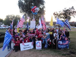 美民眾籲1月6日參加各地挺特朗普集會