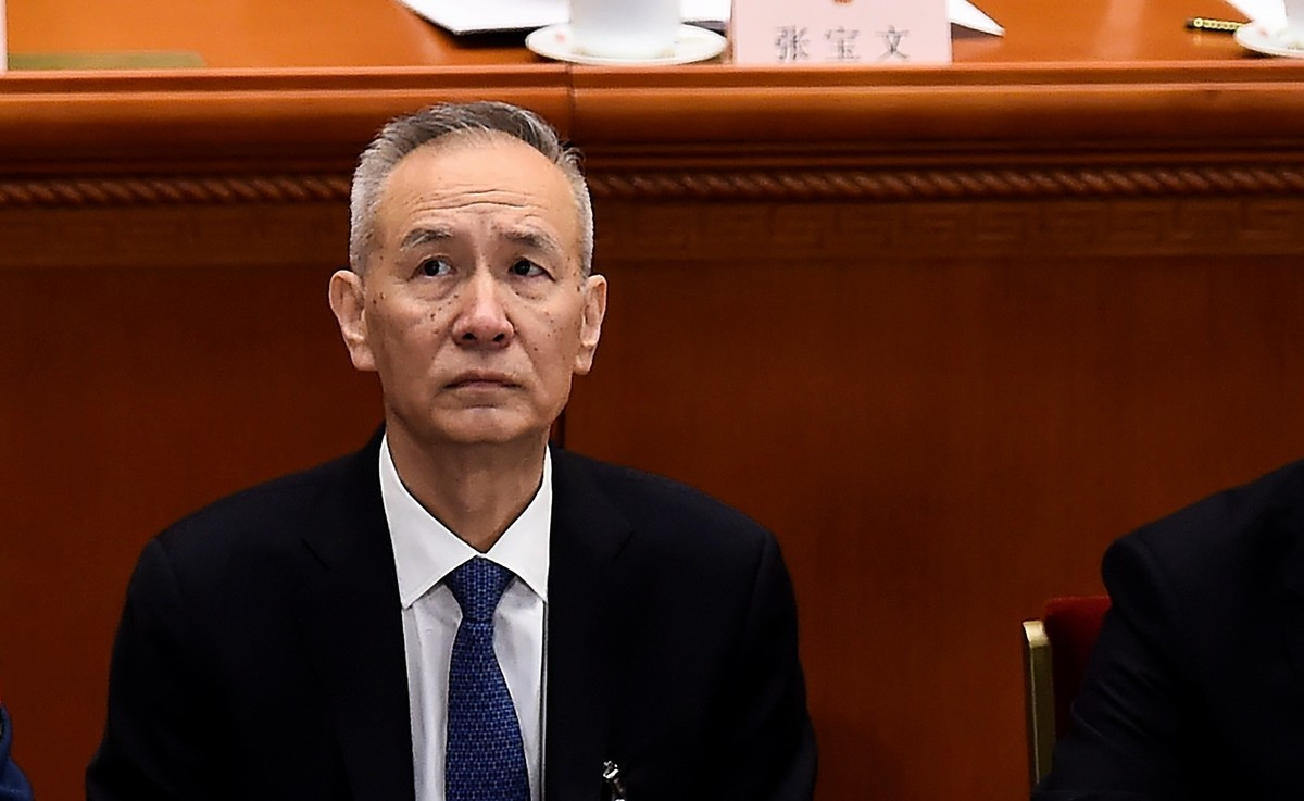 中共國務院副總理劉鶴。(WANG ZHAO/AFP/Getty Images)