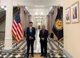 藏人行政中央領導人60年來首次訪問白宮