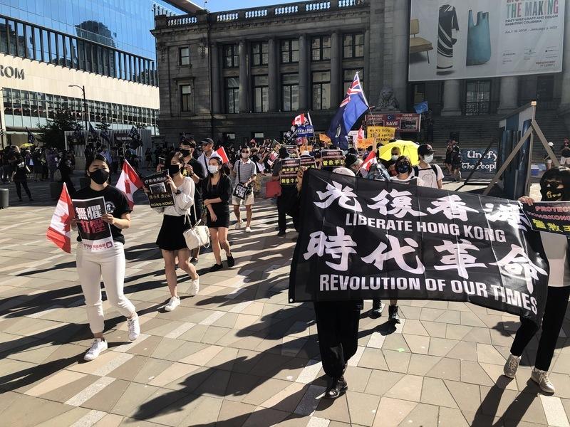 加國接受因「和平抗議」被捕的香港人入境