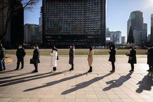組圖:南韓疫情嚴峻 連三日新增逾千例