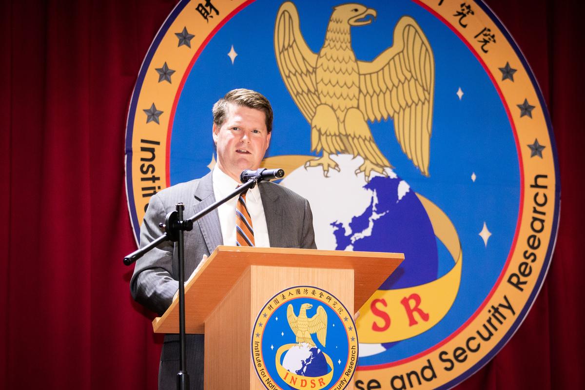 前美國國防部印太事務助理部長薛瑞福(Randall Schriver)。(陳柏州/大紀元)