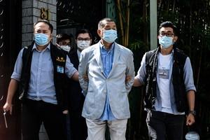 港警高調搜捕壹傳媒 洛杉磯港人憂損新聞自由