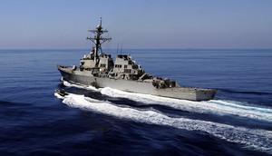 遼寧號編隊繞台行 美軍再派作戰艦穿越台海