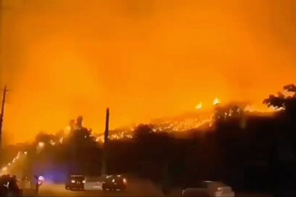 四川西昌瀘山大火復燃 當局急下「封口令」