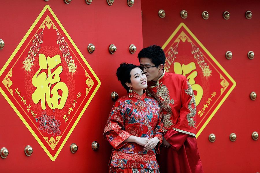 大陸結婚人數6年減少400萬對