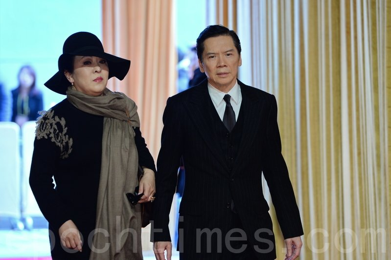圖為香港電影出品及製作人向華強及夫人陳嵐。資料圖。(宋祥龍/大紀元)