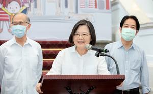 獲選美雜誌風雲人物 蔡英文:台灣人團結一心成果