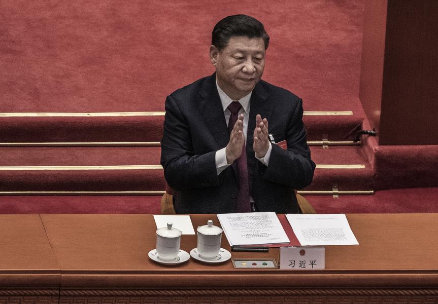 中共人大組織法修改通過 評論:習近平高度集權