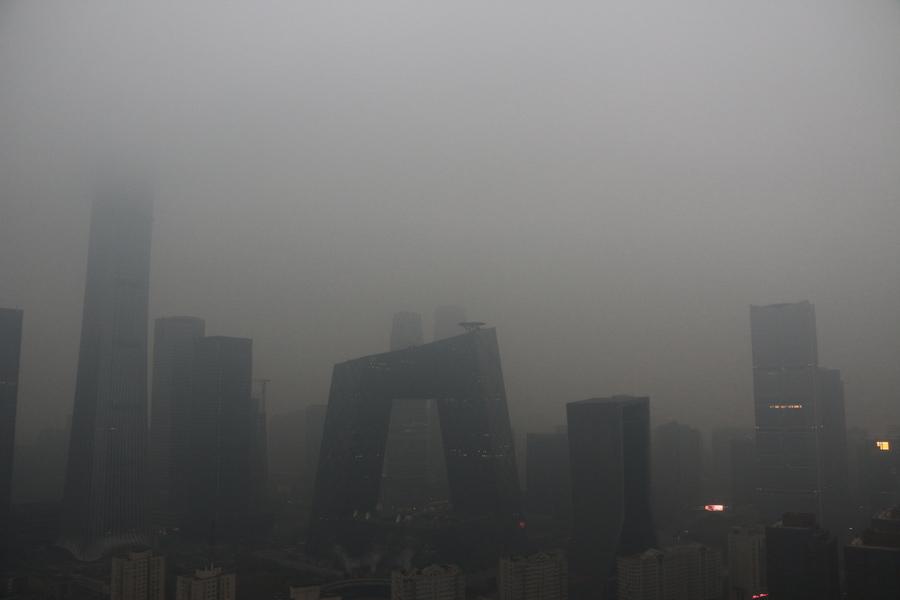 今年最嚴重陰霾 大陸82城市發重污染預警