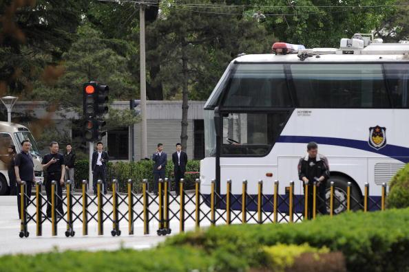 中共中央政法委發起的對中國律師界的「警示教育」的整風運動,正席捲中國律師界。(LIU JIN/AFP/Getty Images)